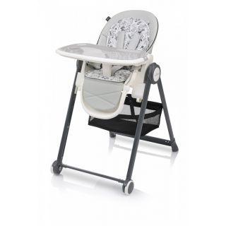 Baby Design Penne 07 Gray - Scaun de masa multifunctional