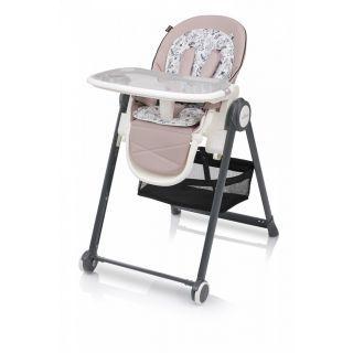 Baby Design Penne 08 Pink - Scaun de masa multifunctional