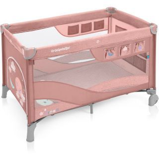 Baby Design Dream Regular 08 Pink 2019 - Patut Pliabil cu 2 nivele