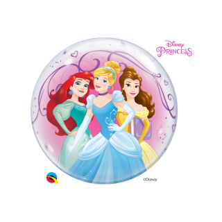 Bubble 56 cm / 22'' Printese Disney, Qualatex 46725