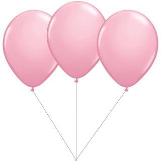 Buchet din 3 baloane latex roz cu heliu, Gemar BB.G90.PINK