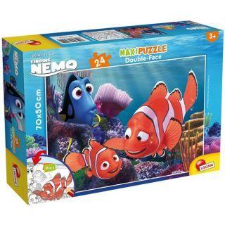 Puzzle de colorat maxi - Nemo (24 piese)