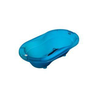 Cadita cu covoras antiderapant Top Translucent blue Rotho-babydesign