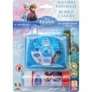 Camera foto cu baloane de sapun Frozen, Dulcop DC142000,1 buc