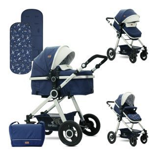 Carucior Alexa, Dark Blue Birds