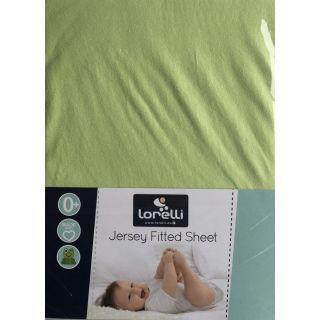 Cearceaf Jersey 60/120 cm, Green