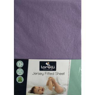 Cearceaf Jersey 60/120 cm, Purple