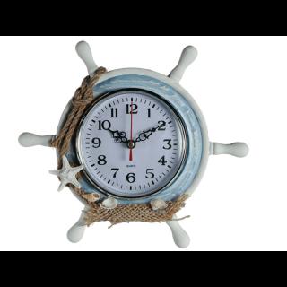 Ceas de birou in forma de timona - 23 x 20 cm, Radar