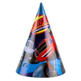 Coif petrecere copii cu Blaze, Amscan , Set 8 coifuri