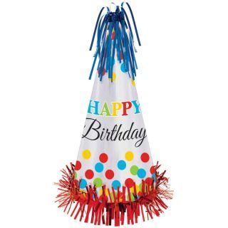 Coif Petrecere Happy Birthday - 33 cm, Amscan