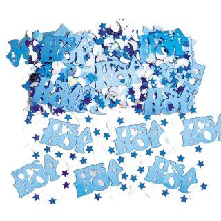 "Confeti bleu ""It's a boy"" pentru party si evenimente, Amscan 36034"
