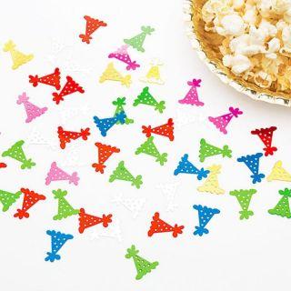 Confeti multicolore forma coif pentru petrecere- 14 gr , Radar 52380