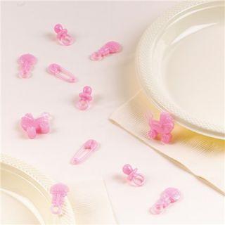 Confetti 3D Baby Girl pentru party si evenimente, Amscan 369656, Punga 25 buc
