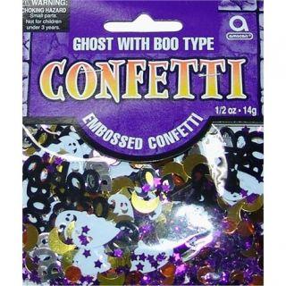 Confetti cu fantoma Boo pentru Halloween, Amscan 362012, Punga 14g