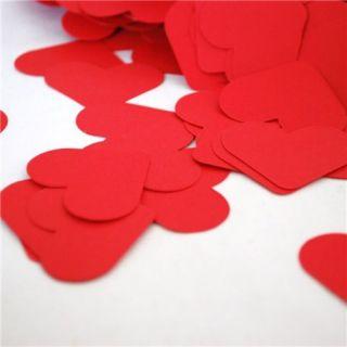 Confetti inimioare rosii hartie pentru party si evenimente, Radar SPC.P.RH