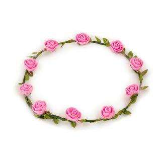Coronita cu flori roz - Radar , 1 buc