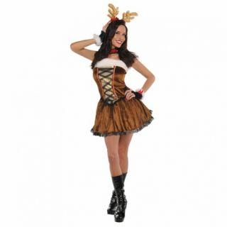 Costum tematic pentru femei - Miss Vixen Ren Craciun, marimea M,  Amscan 996134, 1 buc