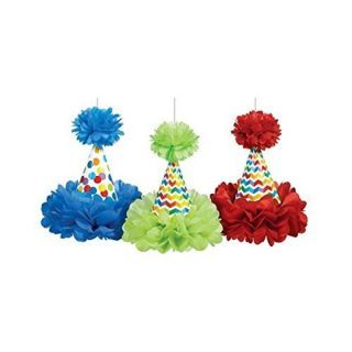 Decoratiuni coifuri party de agatat - 29.2 cm, Amscan, set 3 bucati