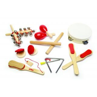 Set instrumente muzicale din lemn