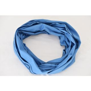 Esarfa alaptare 5 in 1 bumbac culoare albastra