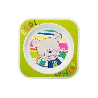 Farfurie plata CoolFriends Apple 6L+ Rotho-babydesign