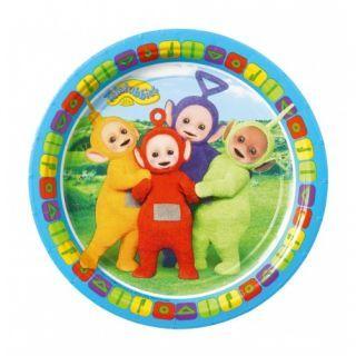 Farfurii carton Teletubbies pentru petrecere copii - 18 cm, Radar