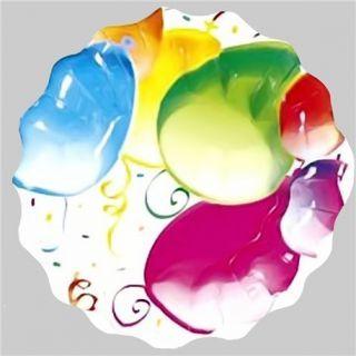 Farfurii Fancy Balloons 23 cm pentru petreceri, Radar , Set 10 buc