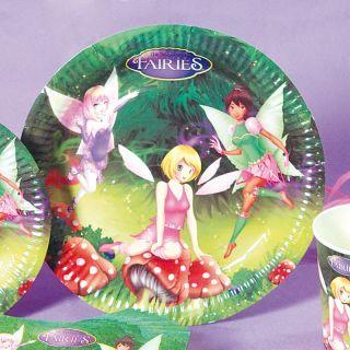 Farfurii petrecere copii 23 cm Fairies, Radar , Set 10 buc