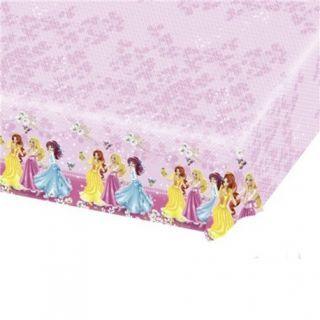 Fata de masa din plastic pentru petrecere copii - Disney Princess, 180 x 120 cm
