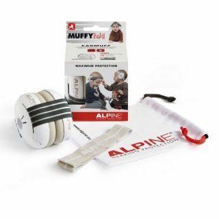 Alpine Muffy Baby Casca impotriva zgomotului antifon - negru