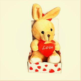 Figurina plus cu inimioara Love, 15 cm, Radar