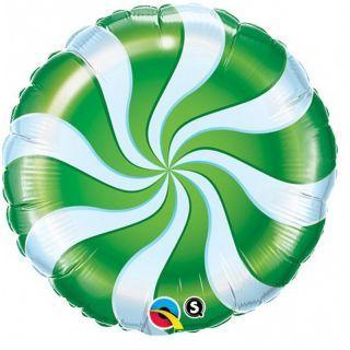 Folie 45 cm Acadea Alb si Verde