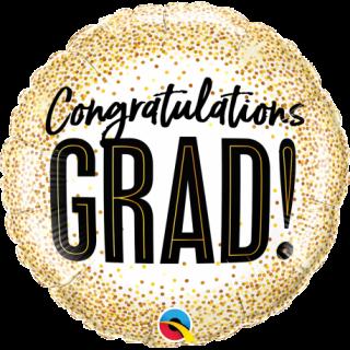 Folie 45 cm - Congrats Grad Gold