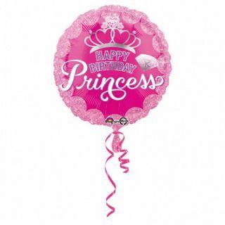 "Folie 45 cm "" Coronita Birthday Princess"", Amscan"