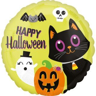 Folie 45 cm Happy Halloween