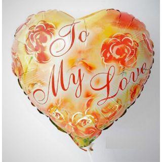 Folie 45 cm To My Love