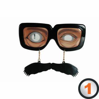 Funny Glasses - Ochelari haiosi de petrecere cu mustata, 18/3929, 1 buc