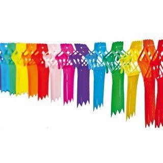 Ghirlanda decorativa cu panglici multicolore - 4m, Radar