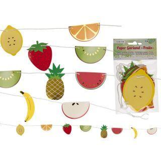 Ghirlanda decorativa fructe - ca. 1 m, Radar