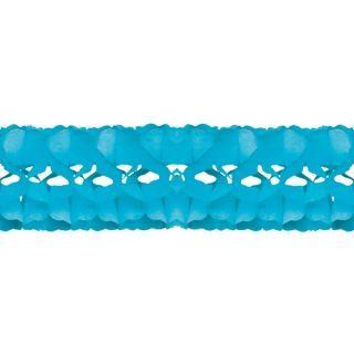 Ghirlanda decorativa hartie bleu - 5 m x 18 cm, Radar