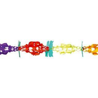 Ghirlanda decorativa Trifoi cu 4 foi multicolora - 3 m x17 cm, Radar
