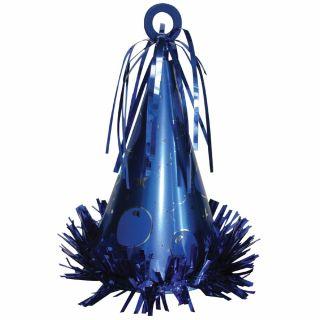 Greutate Coif Albastru pentru baloane - 170g, Amscan