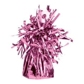 Greutate din Folie Roz pentru baloane - 150 g, Qualatex