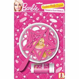Joc party Barbie, Frisbee & Baloane de Sapun Gigant, Dulcop