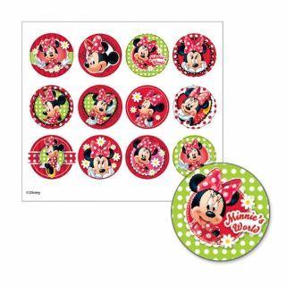 """Joc Party """"Decoreaza Gentuta"""" Disney Minnie Mouse, Amscan"""
