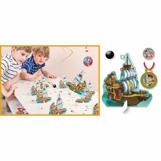 Joc party Disney Bowling Jake si Piratii, Amscan