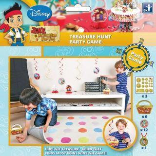 Joc Party Disney Jake & Neverland Pirate Treasure Hunt, Amscan