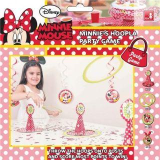 Joc Party Disney Minnie Mouse Hoopla, Amscan