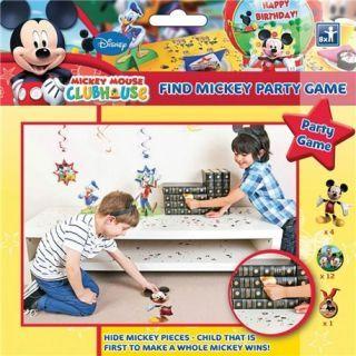 "Joc Party ""Gaseste-l pe Mickey Mouse"", Amscan"
