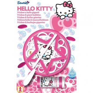 Joc Party Hello Kitty, Frisbee & Baloane de Sapun Gigant, Dulcop